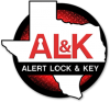 Alert Lock and Key San Antonio locksmiths logo